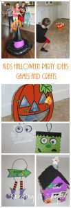 Kids Halloween Party Ideas- Games and Crafts