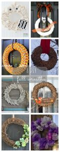 Fall Wreath Ideas {MMM #350 Block Party}