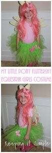 DIY My Little Pony Fluttershy Equestria Girls Costume