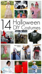 14 Halloween DIY Costumes {MMM #352 Block Party}