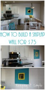How to Build a Shiplap Wall for $75