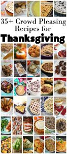 35+ Crowd Pleasing Recipes for Thanksgiving {MMM #356 Block Party}
