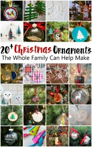 20+ DIY Christmas Ornaments {MMM #355 Block Party}