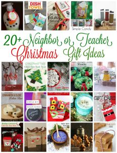 Neighbor or Teacher Gift Ideas {MMM #360 Block Party}