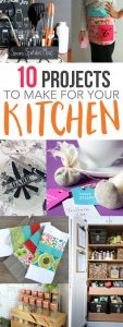 10 Projects to Make for Your Kitchen {MMM #365 Block Party}