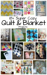 Quilt and Blanket Ideas {MMM #363 Block Party}