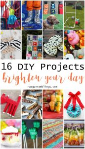 16 DIY Projects to Brighten Up Your Day {MMM #366 Block Party}