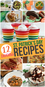 St. Patrick's Day Recipes {MMM #369 Block Party}