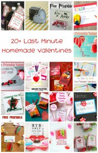 20+ Last Minute Homemade Valentine's {MMM #368 Block Party}