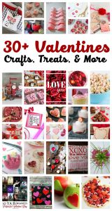 30+ Valentine's Day Crafts, Treats and More {MMM #367 Block Party}