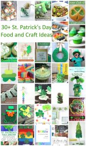 St. Patrick's Day Food and Craft Ideas {MMM #372 Block Party}