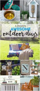 12 Awesome Outdoor DIY Projects {MMM #374 Block Party}