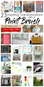 23 Transformations with a Paint Brush {MMM #371 Block Party}