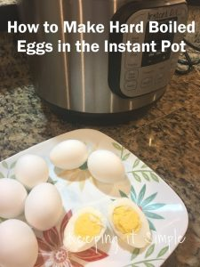 How to Cook Hard Boiled Eggs in an Instant Pot in 10 Minutes