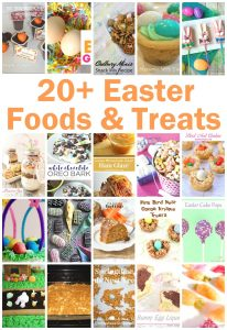 20+ Easter Food and Treats {MMM #376 Block Party}