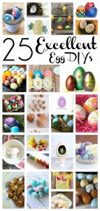 25 Easter Egg Projects {MMM #375 Block Party}