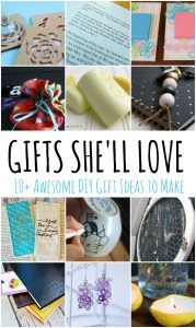 10+ Awesome DIY Mother's Day Gift Ideas {MMM #378 Block Party}