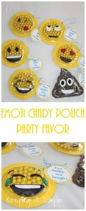 Emoji Party Favor with Printable