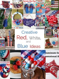Patriotic Ideas- Crafts and Food {MMM #381 Block Party}