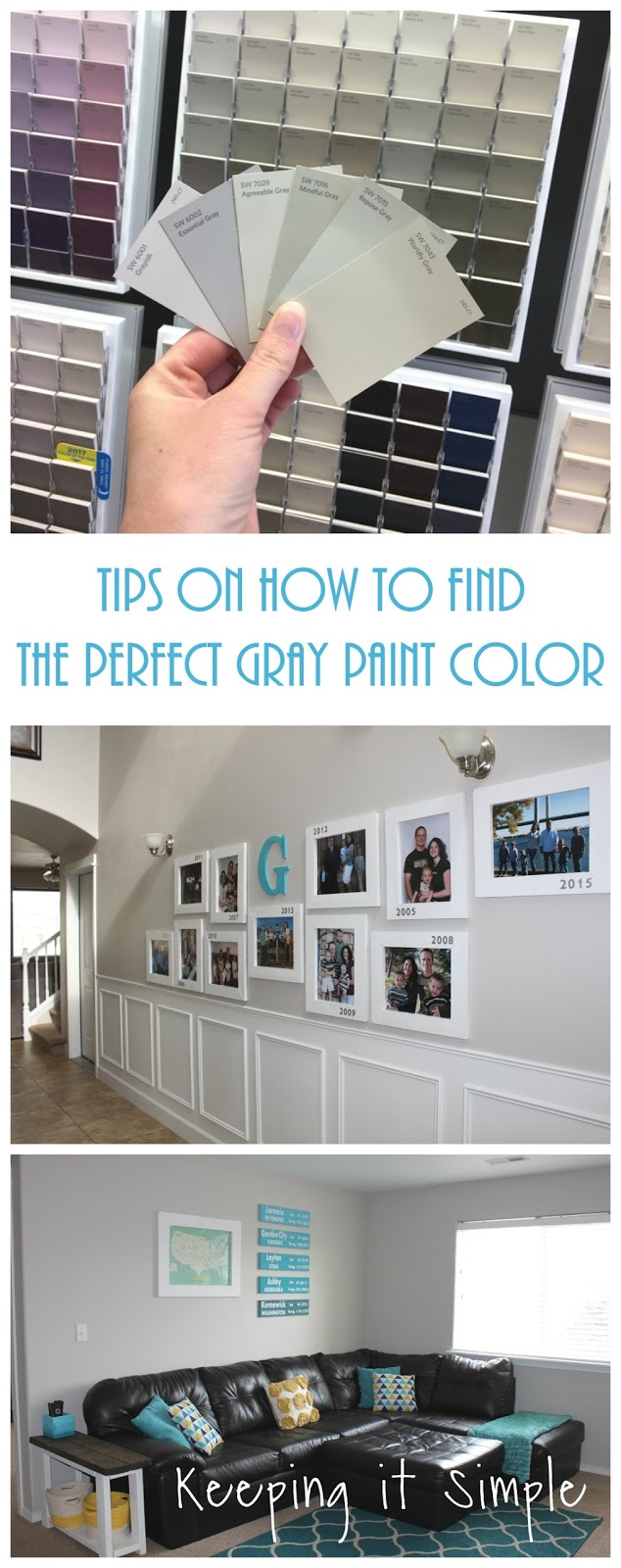 Find Perfect Nail Shapes For Girls Fashion Tips: Tips On How To Find The Perfect Gray Paint Color From