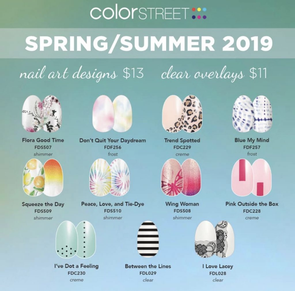 Introducing Color STREET- 100% Nail Polish Strips- Easy Application ...