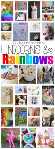 Rainbows and Unicorn Ideas {MMM #387 Block Party}
