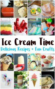 Ice Cream Recipes and Treats {MMM #386 Block Party}