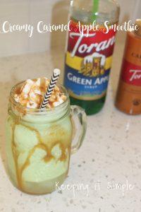Creamy Caramel Apple Smoothie Recipe