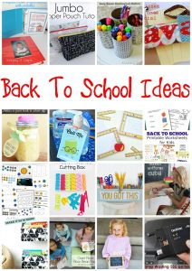 Back To School Ideas {MMM #392 Block Party}