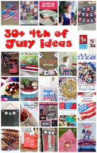 30+ 4th of July and Patriotic Ideas {MMM #388 Block Party}