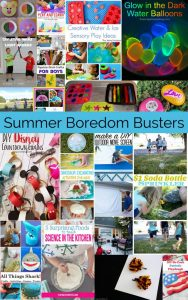 Summer Boredom Busters- Kids Crafts and Activities {MMM #389 Block Party}
