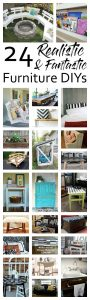 24 Fantastic Furniture DIYs {MMM #391 Block Party}