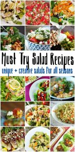 Must Try Salad Recipes {MMM #390 Block Party}