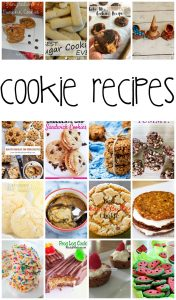Cookie Recipes {MMM #396 Block Party}