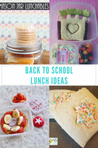 Back To School Lunch Ideas {MMM #393 Block Party}