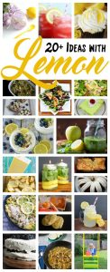 20+ Ideas Using Lemons {MMM #395 Block Party}