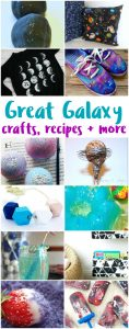 Awesome Galaxy Crafts and Recipes {MMM #394 Block Party}