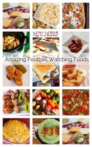 Amazing Football Watching Foods {MMM #397 Block Party}
