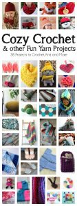 Crochet Ideas and Yarn Projects {MMM #399 Block Party}