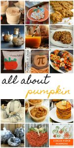 Pumpkin recipes, ideas and crafts {MMM #398 Block Party}
