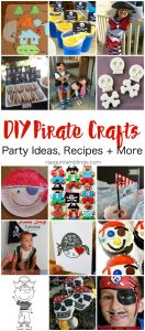 DIY Pirate Costumes, Crafts and Treat ideas {MMM #402 Block Party}