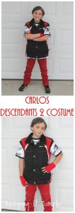 DIY Carlos Son of Cruela De Vil from Descendants 2 Costume
