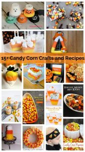15+ Candy Corn Crafts, Recipes and Ideas {MMM #405 Block Party}
