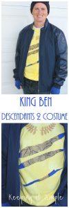 DIY King Ben from Descendants 2 Costume