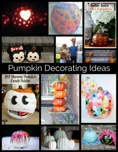 Pumpkin Decorating Ideas {MMM #401 Block Party}