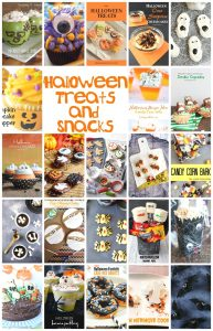 Halloween Treats and Snacks {MMM #404 Block Party}