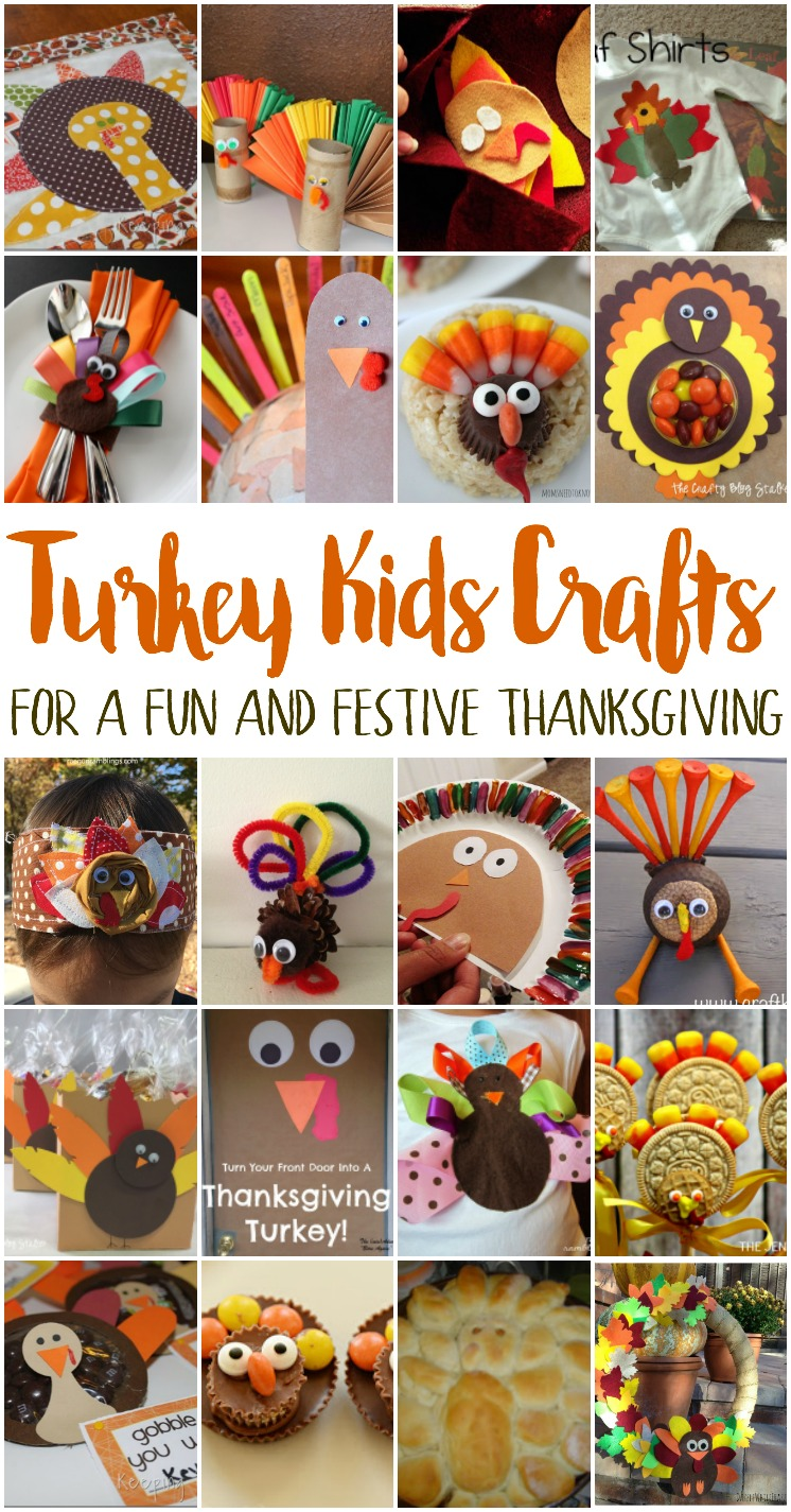 Turkey Kids Crafts Mmm 406 Block Party Keeping It Simple