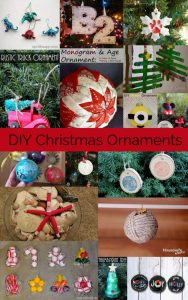 DIY Christmas Ornaments {MMM #409 Block Party}