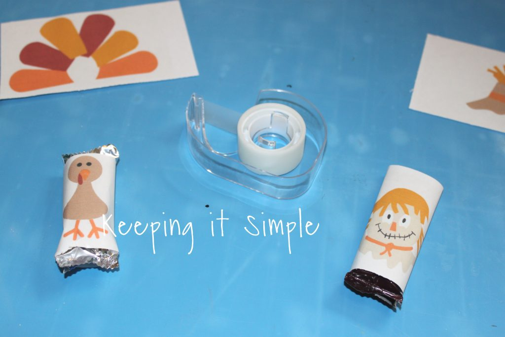 Thanksgiving Candy Bars with Printable Wrapper • Keeping ...