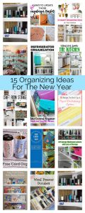 15 Organizing Ideas for the New Year